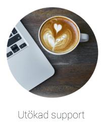 Tjänst utökad support